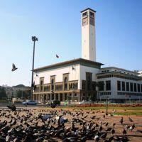 Wilaya, ex-hôtel de ville - Vue générale depuis la place Mohammed V